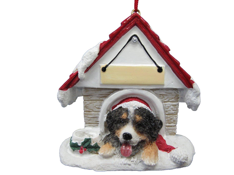 Bernese mountain dog christmas ornaments