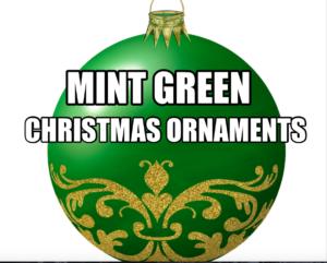 mint-green-christmas-ornaments