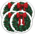Christmas burner covers