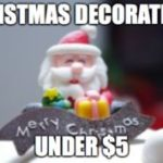 Christmas Party Decorations Under $5